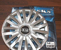 Колпаки на колеса SKS R14 KIA - Колпаки на диски - Модель 217, купить комплект недорого