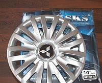 Колпаки на колеса SKS R14 Mitsubishi - Колпаки на диски - Модель 217, купить комплект недорого, на колеса