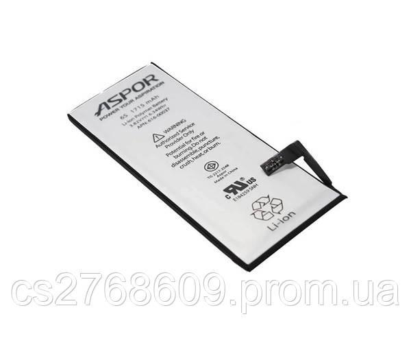 "Батарея / Акумулятор ""Aspor"" Iphone 6s (premium i6s)"