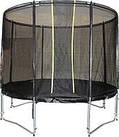 Батут KIDIGO VIP BLACK 244 см с защитной сеткой (61009)