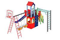 Детский комплекс Leader 1,5 м Kidigo, детские игровые площадки.