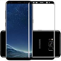 Защитное цветное 3D стекло Mocoson full glue для Samsung G950 Galaxy S8 Черный, КОД: 1295395