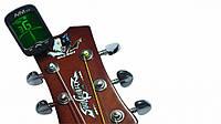 Тюнер-прищепка для гитары