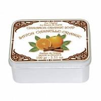 Натуральное мыло в жестяной упаковке Le Blanc Апельсин-Корица 100 г 97400, КОД: 1089883