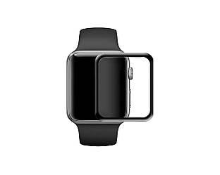 Защитное cтекло Full Cover для Apple Watch 42 мм Black 1991, КОД: 1140397