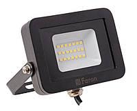 Прожектор светодиодный Feron LL-851 LED 10 Вт Черный 007658, КОД: 950140