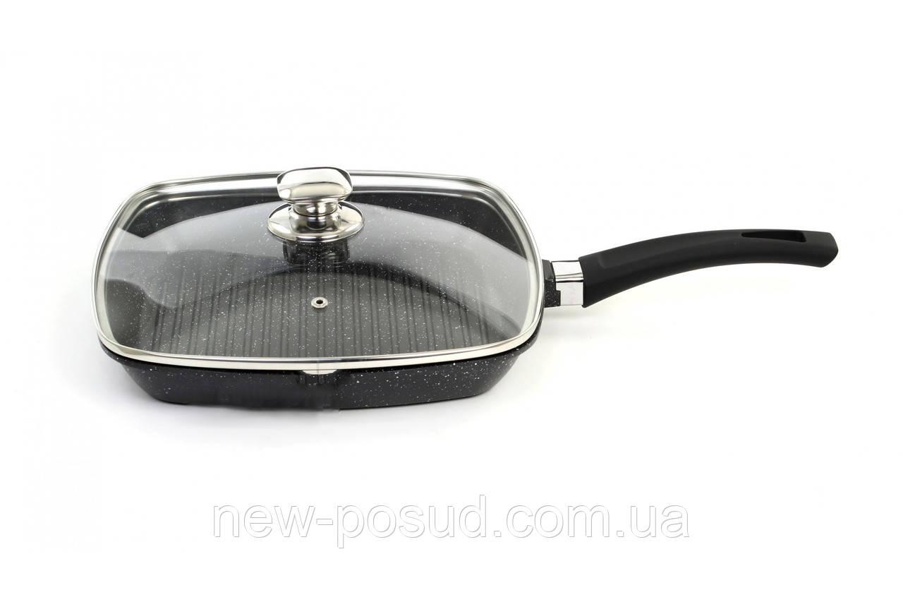 Сковорода - гриль с мраморным покрытием Bohmann BH 1002-24 MRB