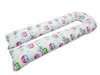 Подушка для беременных KIDIGO U образная Сова (с наволочкой)Подушка для беременных KIDIGO U образная (шелк) (PDV-US)Подушка для беременных прямая