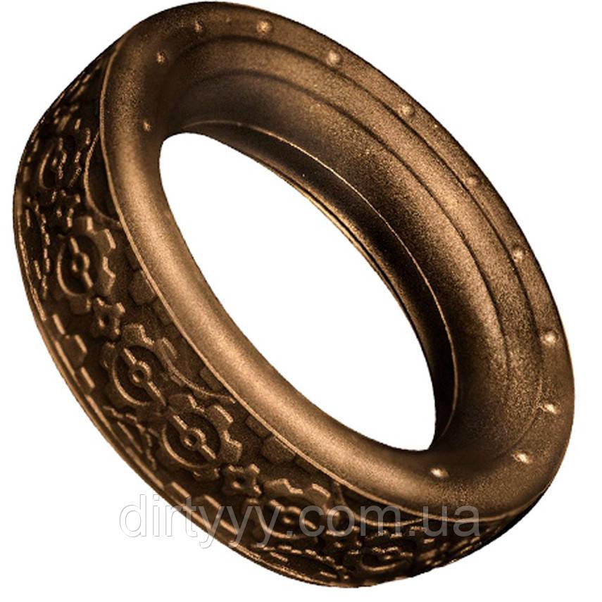 Эрекционное кольцо - Rocks Off Dr Roccos Coxs Cog, цвет: медь