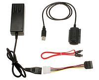 Переходник USB to SATA IDE 2.5/3.5 c блоком питания