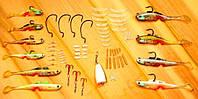 Набор Рыболовных Снастей (Рыбацкий комплект) наживка