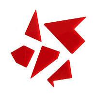 Акриловая головоломка Латинский крест Крутиголовка Красный krut0064, КОД: 120125