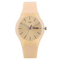 Жіночий годинник Swatch White Bishop SUOT700 Beige SUOT700Beige, КОД: 1291081