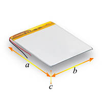 АКБ універсал\Polymer battery 402120P (200mAh)