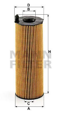 Масляный фильтр PORSCHE CAYENNE (9PA) / AUDI A5 Кабриолет (8F7) / AUDI A8 2002-2018 г.