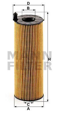 Масляний фільтр VW PHAETON / AUDI A4 Allroad (8KH, B8) / AUDI A4 (8K2, B8) 2002-2017 р.