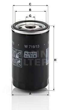Масляный фильтр MERCEDES-BENZ седан (W124) / MERCEDES-BENZ SL (R107) 1971-2004 г.