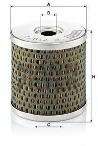 Паливний фільтр TOYOTA LAND CRUISER (_J7_) / TOYOTA LAND CRUISER 80 (_J8_) 1984-1999 р.
