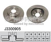 Гальмівний диск CHEVROLET NUBIRA седан / DAEWOO NUBIRA Wagon (J100) 1997-2011 р.