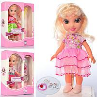 Кукла XH610A-XH610-1-2 (36шт) 24см, муз, аксессуары, бат(табл), в кор-ке, 22-28-7см