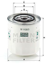 Масляний фільтр VOLVO 850 (854) / VOLVO V70 I (875, 876) / VOLVO S80 I (184) 1991-2008 р.