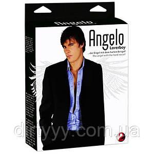 Кукла-мужчина  Angelo Loverboy - Мужская Blow Up Doll, цвет: телесный