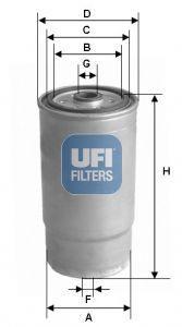 Топливный фильтр AUDI A6 (4B2, C5) / AUDI A6 Avant (4A5, C4) / AUDI A6 (4A2, C4) 1991-2005 г.