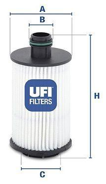Масляный фильтр OPEL ANTARA (L07) / CHEVROLET CRUZE (J300) / VAUXHALL ANTARA (L07) 2006-2012 г.