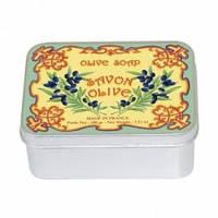 Натуральное мыло в жестяной упаковке Le Blanc Оливковое 100 г 97416, КОД: 1090042