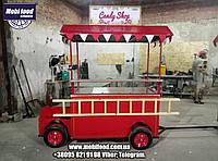 Тележка в виде авто для  торговли фаст фудом  (РТТ-5)., фото 1