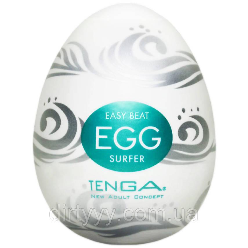 Мастурбатор - Tenga Egg Surfer (Серфер), цвет: белый