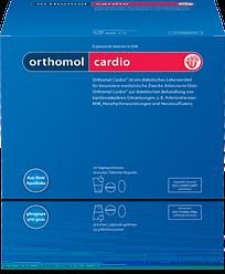 Витамины Orthomol Cardio здоровье сердца и сосудов 30 пакетиков с порошком 90 капсул 60 таблеток, КОД: 1261357