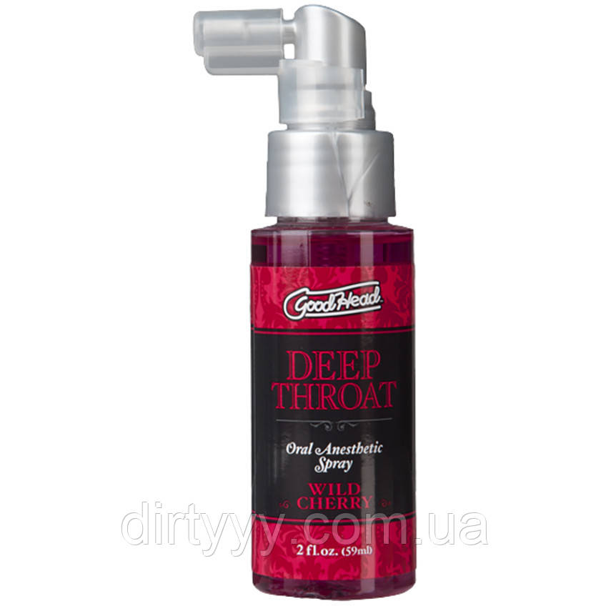 Спрей для минета - Deep Throat Spray - Wild Cherry, 59ml