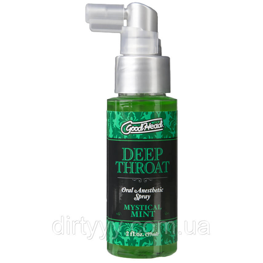 Спрей для минета - Deep Throat Spray - Mystical Mint, 59ml