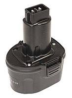 Аккумулятор для шуруповерта DeWalt DE9057 3.0Ah 7.2V Черный 436732, КОД: 1098783