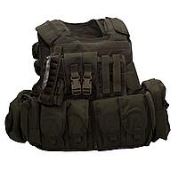 Бронежилет Flyye RAV Vest with Pouch Set Ranger Green FY-VT-M007-RG, КОД: 241826