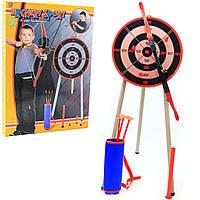 Игровой набор «Лук со стрелами и трубкой для метания» 2в1 (2828)