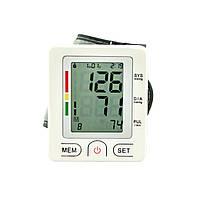 Электронный тонометр UKC Wrist Style на запястье Белый 46-891715235, КОД: 1345934
