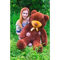 """Плюшевый медведь """"Нестор"""" Шоколадный 140 см"""