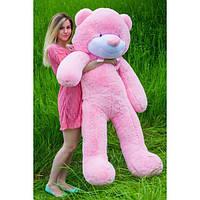 """Плюшевый медведь """"Нестор"""" Розовый 160 см"""