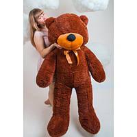 """Плюшевый медведь """"Нестор"""" Шоколадный 160 см"""