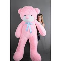"""Плюшевый медведь """"Нестор"""" Розовый 180 см"""
