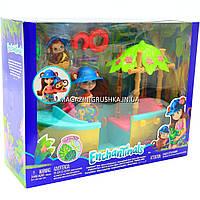 Игровой набор Enchantimals Junglewood Игровой набор Энчантималс лодка Джунглолеса обезьянки Мерит (GFN58)
