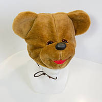 Маскарадная шапочка Kronos Toys Медведь Коричневый zol237-1, КОД: 144975