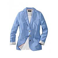 Пиджак Eddie Bauer Womens Boyfriend Blazer BLUE 38 Голубой 7111527BL, КОД: 1164693