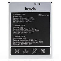 Аккумулятор акб ориг. к-во Bravis A552 Joy Max, 2000mAh