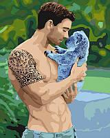 Картина по номерам Нежная мощь, 40x50 см, Идейка (КНО4651)