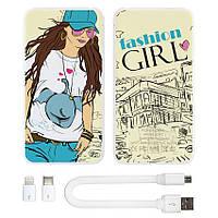 Универсальная батарея Fashion Girl, 10000 мАч (E510-11)