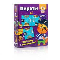 Игра настольная Crazy Koko Головоломки. Питраты - на русском Vladi Toys - 218948