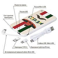 Универсальная мобильная батарея Мексиканец, 5000 мАч (E505-08), фото 1